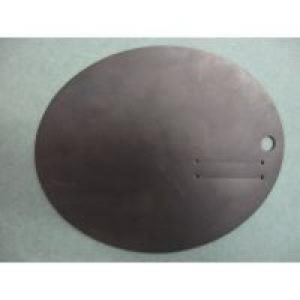 Rubber Hand Protector (for use with Oyster Knives) 16cm x 13cm with thumb slot