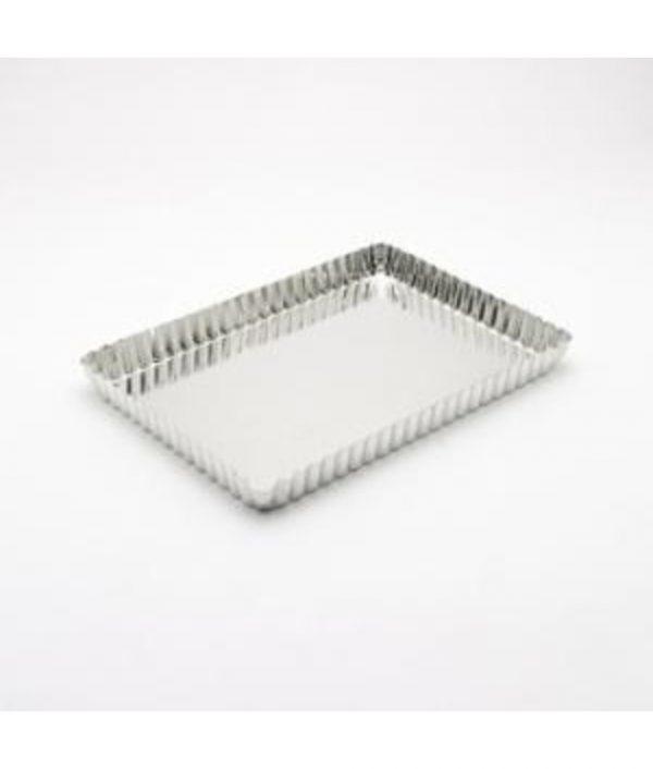Tart Tin - 12x6cm - Loose Base - Rectangular