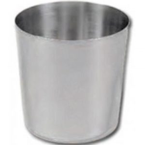 Dariole Mould Stainless Steel  50x53mm 60ml