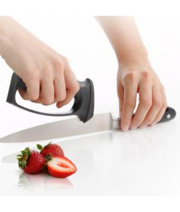 V-Slot 10-Second Knife & Scissors Sharpener by KitchenIQ