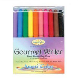 Gourmet Writer Food Pen Set by Americolor