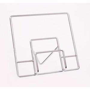 Cookbook Holder- Silver by Donaldson