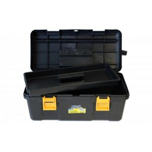 Toolbox - Plastic with Removable Tray