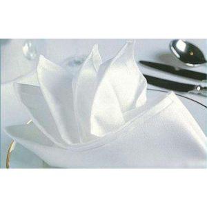 Napkin - White 50x50cm