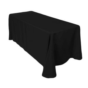 Tablecloth - Black - Round 180cm