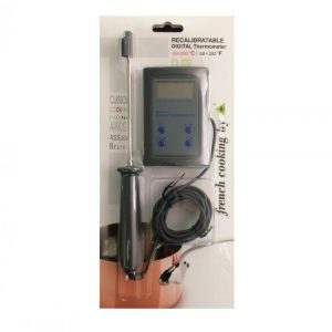 Recalibratable Cooking Digital Thermometer