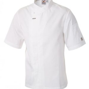 5 For The Price Of 4: Food Preparation Chef Jacket White Short Sleeves by Club Chef