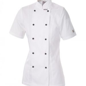 5 For The Price Of 4: Ladies Executive Chef Short Sleeve Jacket by Club Chef