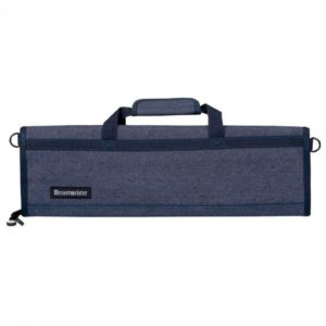 8 Pocket Blue Denim Padded Knife Roll by Messermeister
