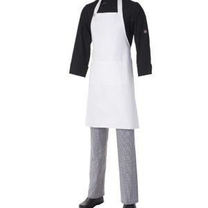 Bib Apron Heavyweight Cotton with Pocket by Club Chef Aprons 6