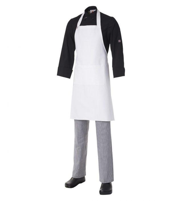 Bib Apron Heavyweight Cotton with Pocket by Club Chef Aprons 2