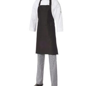 Bib Apron Heavyweight Cotton with Pocket by Club Chef Aprons 7