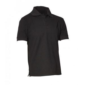 Mens Polo Shirt - Black by Club Chef