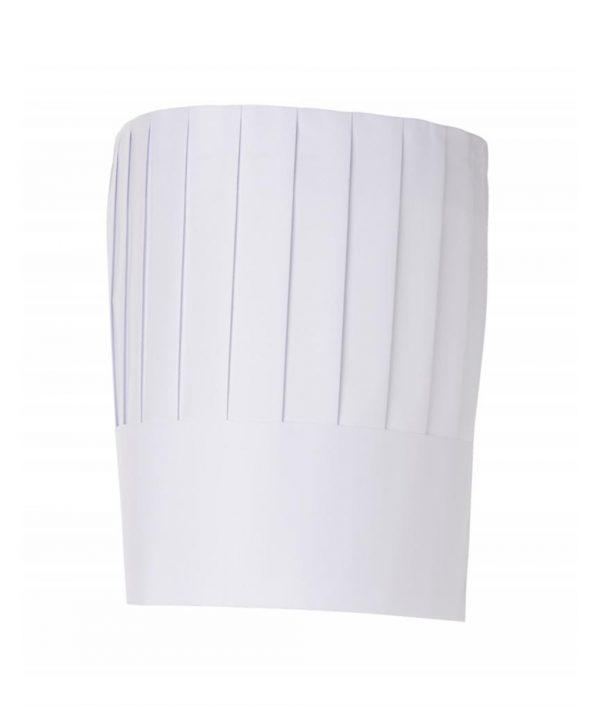 Disposable Paper Classic Top Chef Hat 23cm