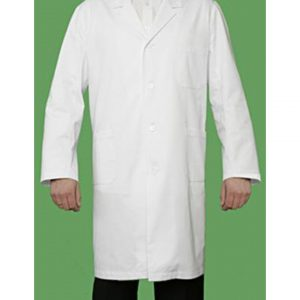 Laboratory Coat with Press Studs