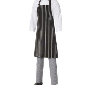 Bib Apron Pinstripe – Medium by Club Chef Aprons 7