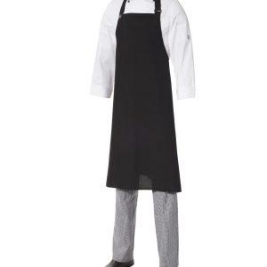 Bib Apron Poly/Viscose - Large by Club Chef