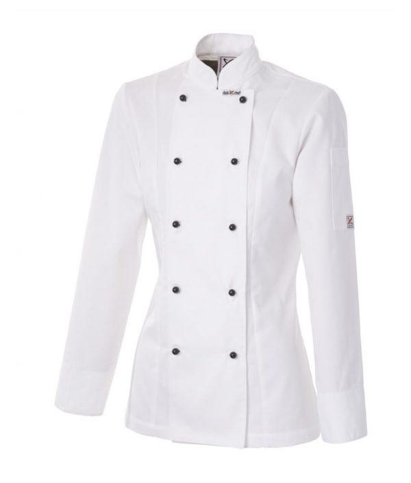 Ladies Executive Chef Jacket by Club Chef