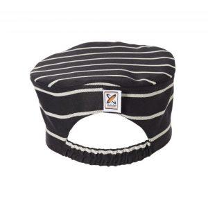 Flat Top Hat Pinstripe by Club Chef Butcher & Baker Uniforms 8
