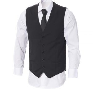 Mens Executive Vest with Satin Back