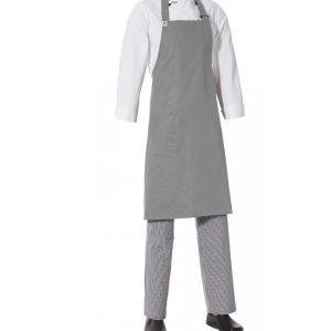 Bib Apron with Side Pocket by Club Chef Aprons 12