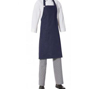Bib Apron with Side Pocket by Club Chef Aprons 13