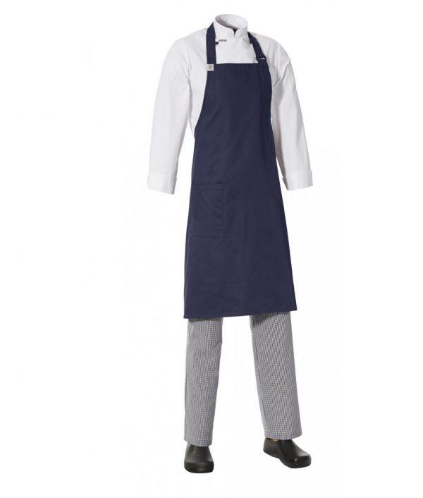 Bib Apron with Side Pocket by Club Chef Aprons 5