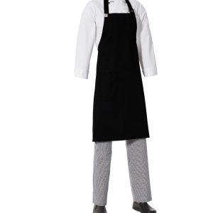 Bib Apron with Side Pocket by Club Chef Aprons 14