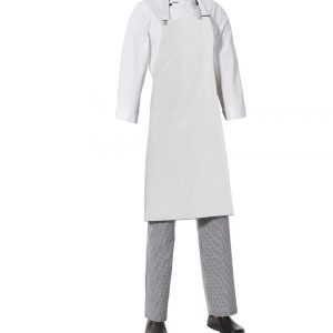 Bib Apron with Side Pocket by Club Chef Aprons 15