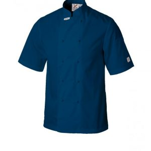 Traditional Chef Jacket – Short Sleeves in Various Colours – 100 units by Club Chef Coloured Chef Jackets 5