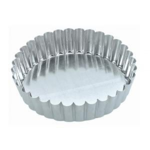 Cake Pan - Fluted - Loose Base - 100x30mm
