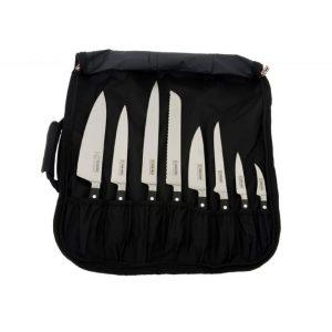 Club Chef Knife Carry Wrap 8 Piece Cases & Storage 5