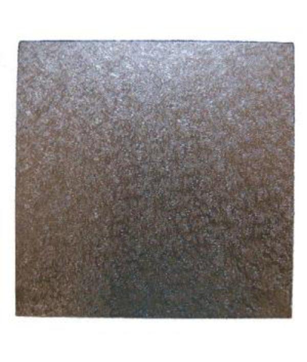 Cake Board- 25cm Square - Silver