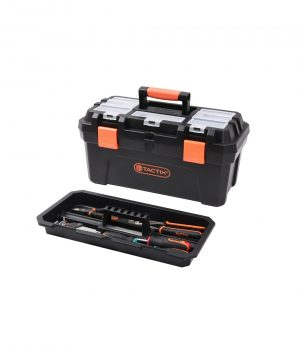 Toolbox – Plastic with Removable Tray Cases & Storage 4