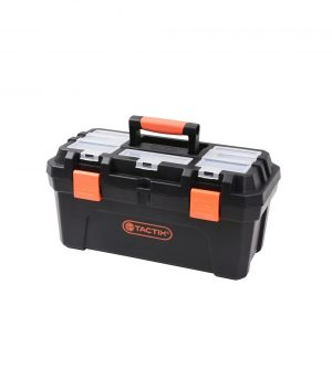 Toolbox – Plastic with Removable Tray Cases & Storage 3