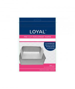 Parchment Paper – 15cm Pre-Cut Round with tabs by Loyal Bakeware