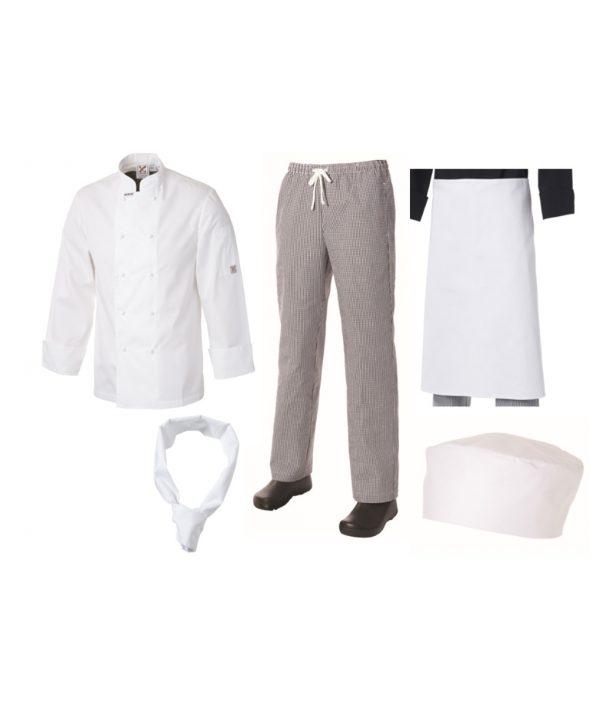 Club Chef Student Uniform Kit All