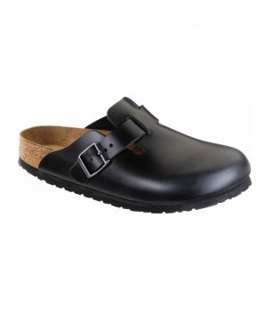 Boston SL NL Black by Birkenstock Chef Uniforms