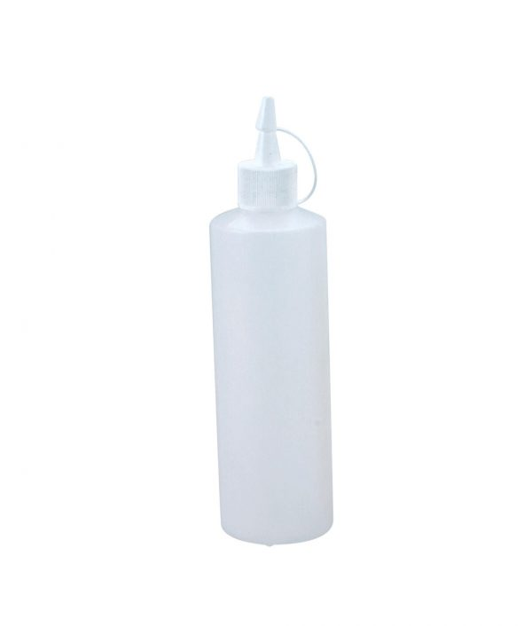 Plastic Squeeze Bottle – 250ml – Clear with Cap Squeeze Bottles