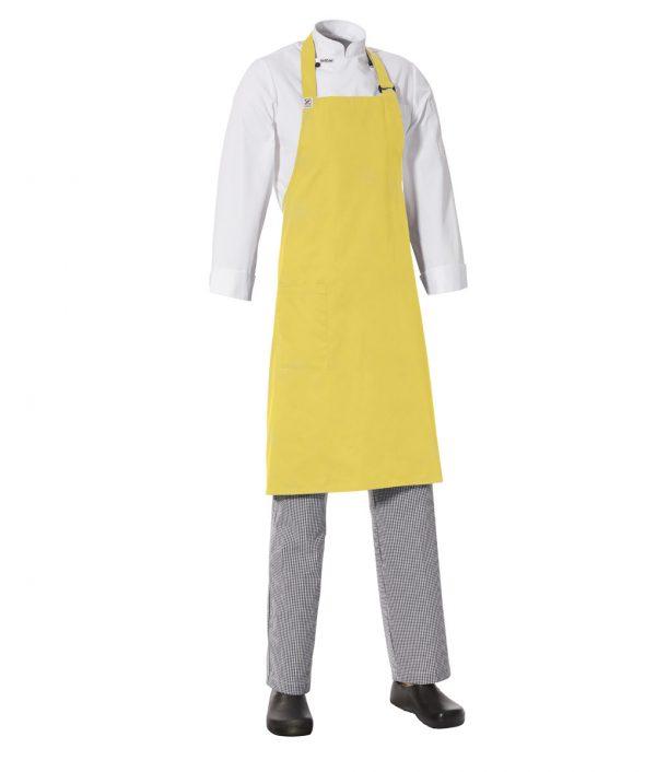 MasterChef Bib Apron with Side Pocket by Club Chef Aprons 3