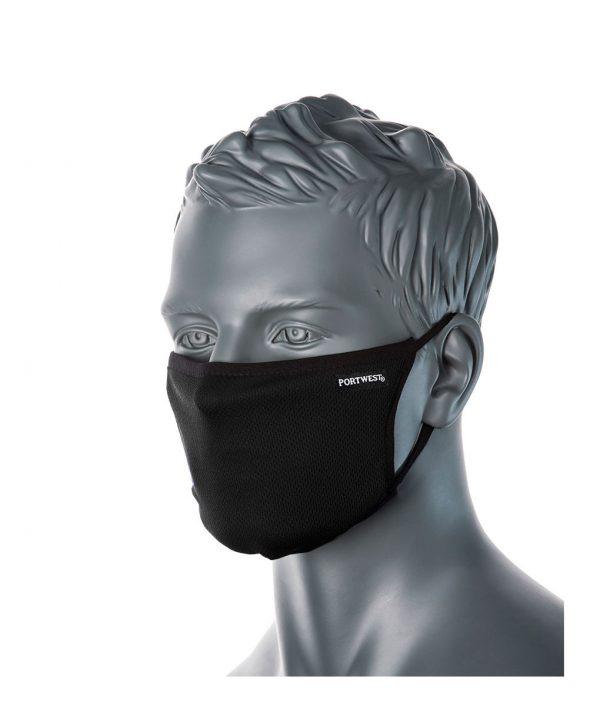 Reusable Face Mask – Triple layer Anti-Microbial Box 25 Masks