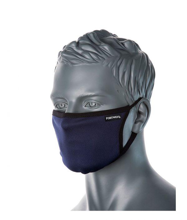Reusable Face Mask – Triple layer Anti-Microbial Box 25 Masks 3
