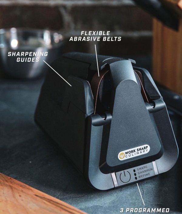 E4 Electric Kitchen Knife Sharpener Package Knife Sharpeners 2
