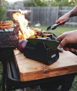 E4 Electric Kitchen Knife Sharpener Package Knife Sharpeners 9