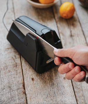 E4 Electric Kitchen Knife Sharpener Package Knife Sharpeners 10
