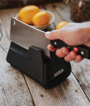 E4 Electric Kitchen Knife Sharpener Package Knife Sharpeners 11