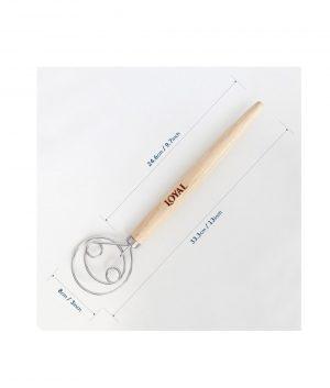 Danish Dough Whisk 33cm Tools & Utensils 6