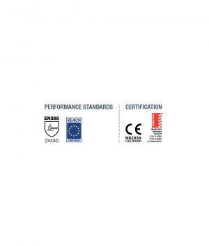 Cut Resistant Globe – Food Grade BLUE 13 – Ambidextrous – Single Glove Only Food & Beverage Uniforms 5