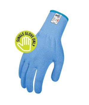 Cut Resistant Globe – Food Grade BLUE 13 – Ambidextrous – Single Glove Only Food & Beverage Uniforms