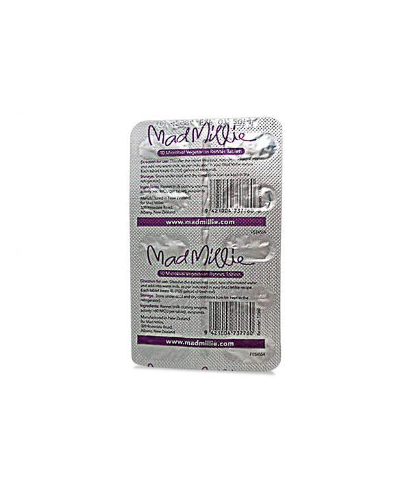 Mad Millie Vegetarian Rennet Tablets 10 Pack Ingredients